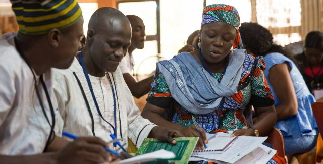 Principles of Transformation workshop for leaders in the agriculture sector in Nigeria